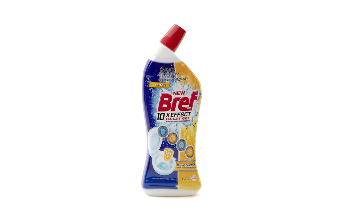 Bref 10x Effect Toilet Gel Micro Brush