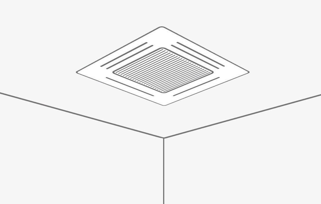16may heatpump ceiling cassette