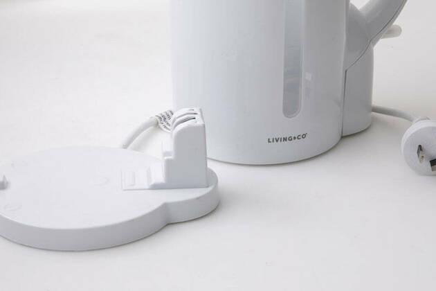Living & Co 1.7L White Kettle LKT17WT 9400994442229