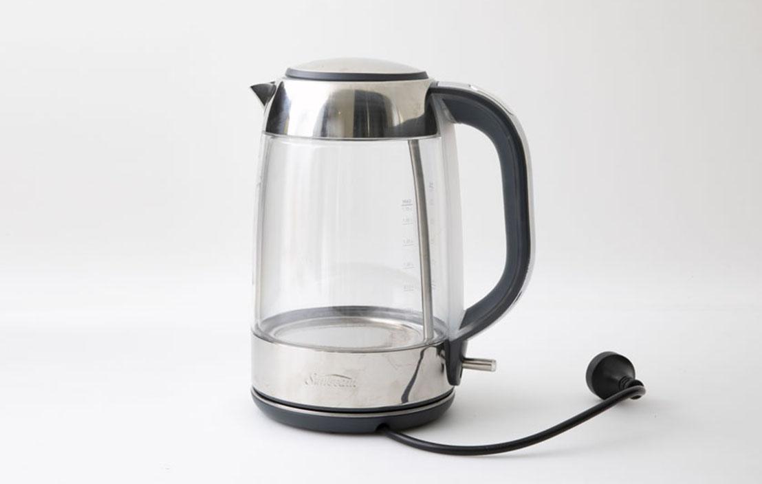 14 sunbeam ke9550 perfectly pure glass kettle