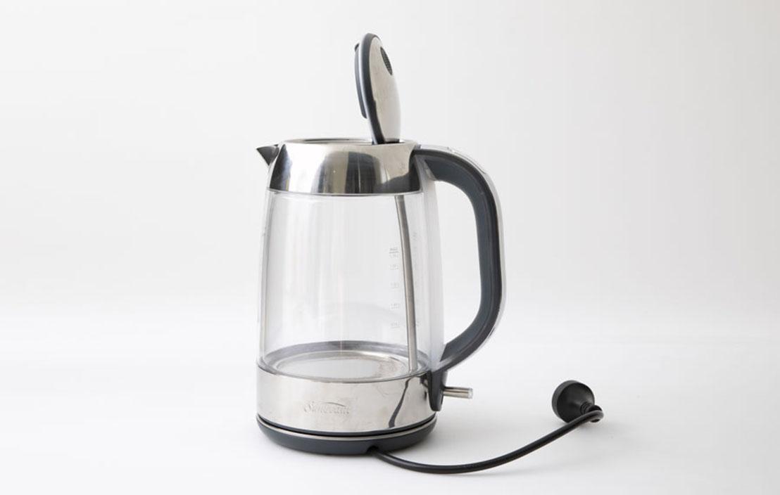 14 sunbeam ke9550 perfectly pure glass kettle   1