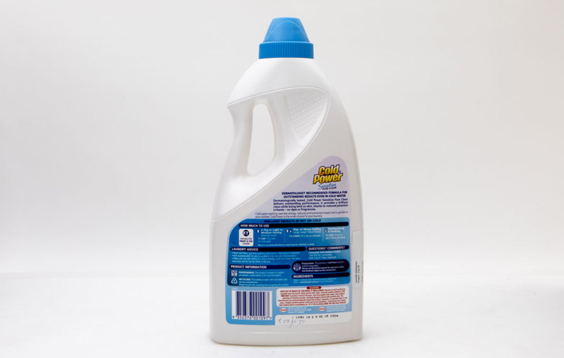 Cold power pure clean liquid 2