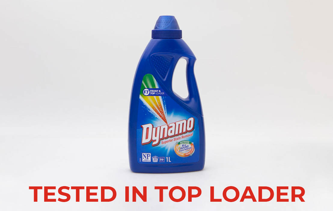 Dynamo superior stain removal top loader test