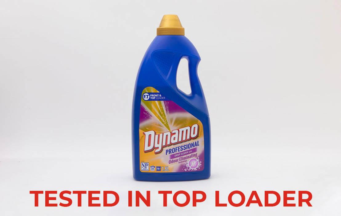 Dynamo professional deep clean with odour eliminating technology top loader test