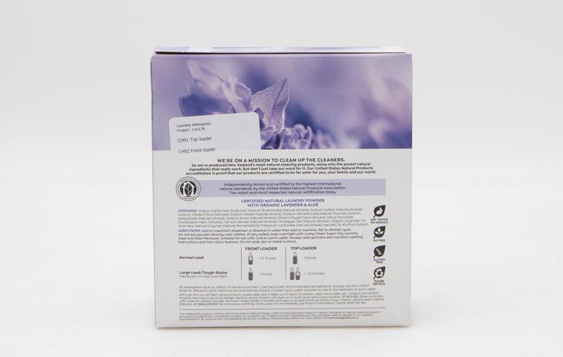Living Green Lavender & Aloe Powder