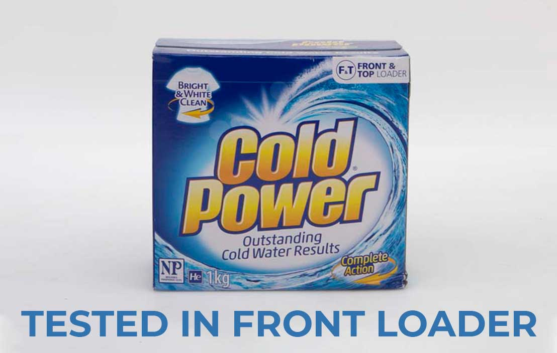 Cold power complete action powder front loader test