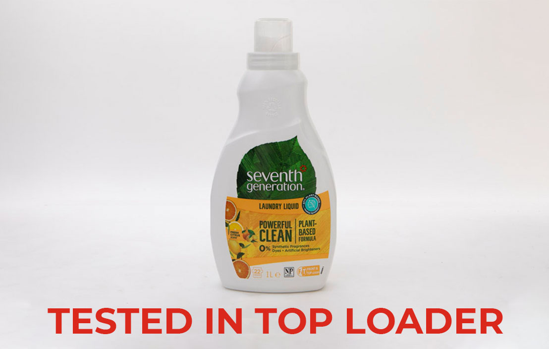 Seventh generation fresh citrus liquid top loader test