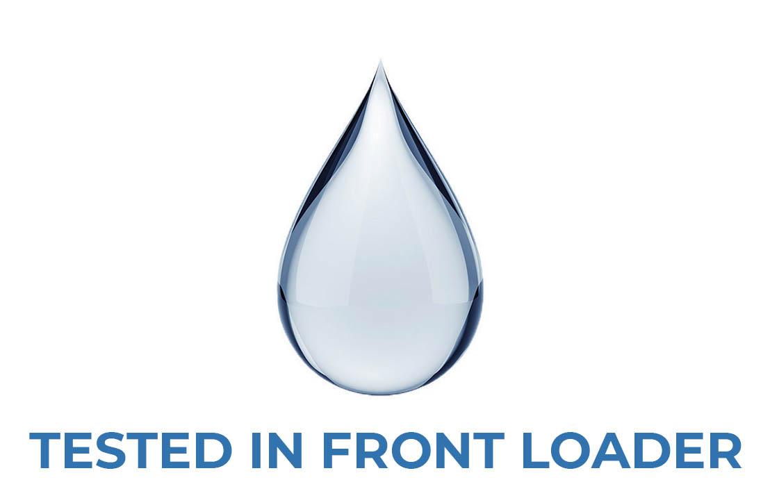 Water front loader test
