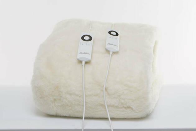 Sunbeam Sleep Perfect Wool Fleece Queen BL5651