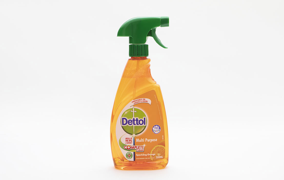 Dettol multi purpose complete clean sparkling orange