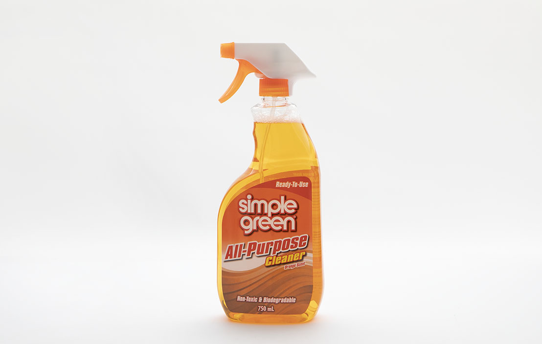 Simple green all purpose cleaner orange