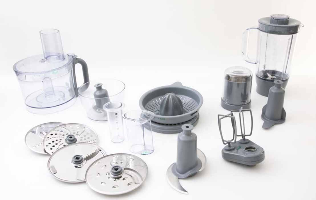 Kenwood MultiPro Home 1000W Food Processor FDP646SI
