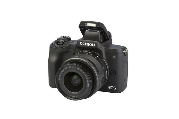 Canon EOS M50 (with 15-45mm lens)