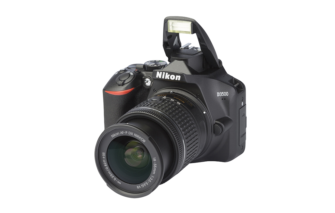 Nikon D3500 (with 18-55mm lens)