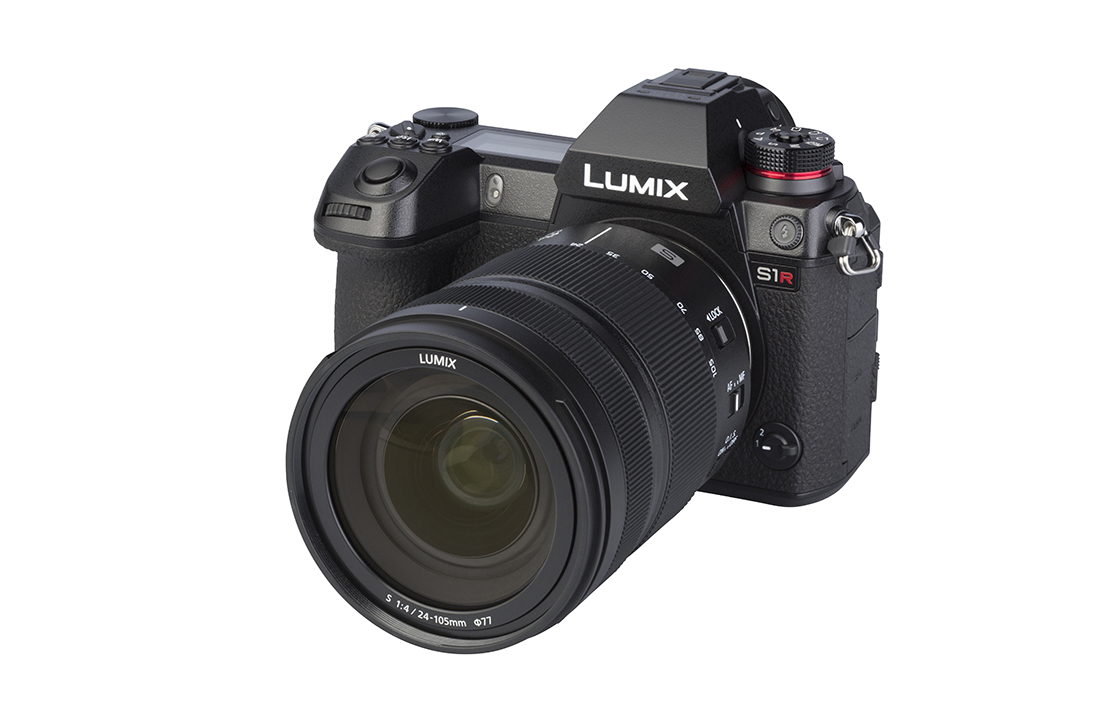 Panasonic LUMIX S1R (with 24-105mm lens)