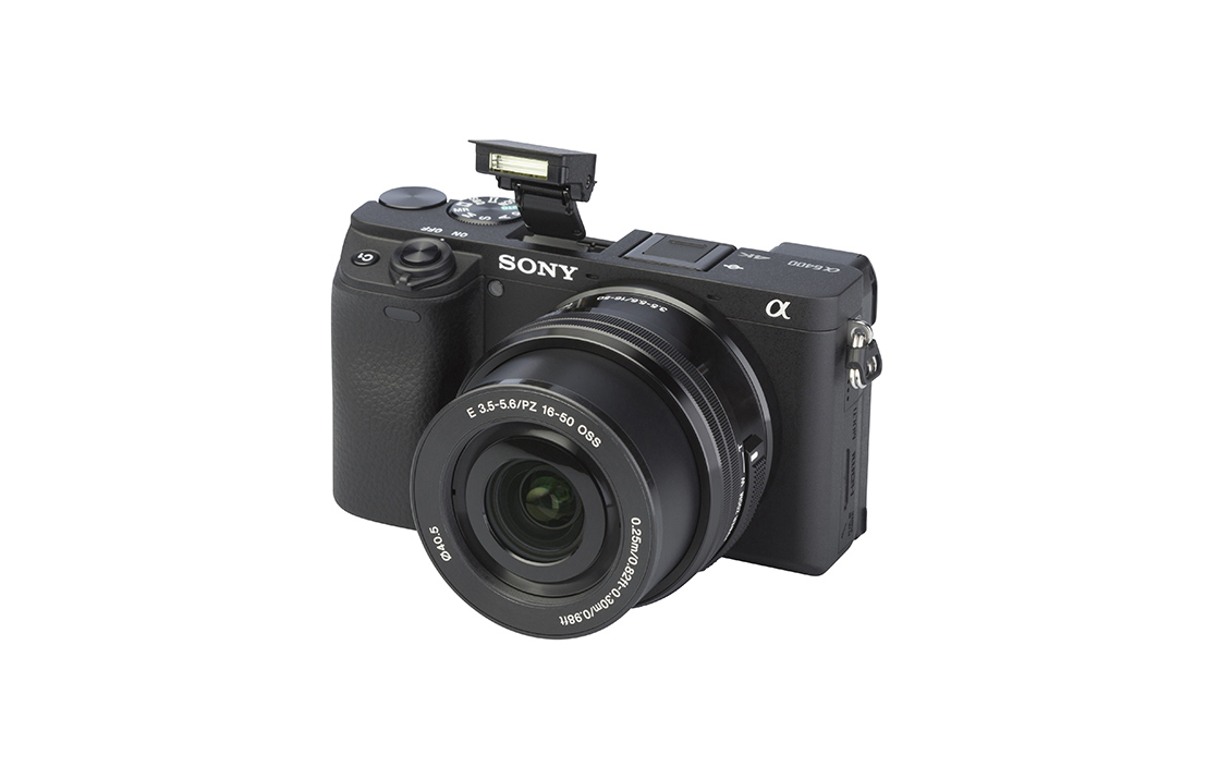 Sony Alpha 6400 (with 16-50mm lens)