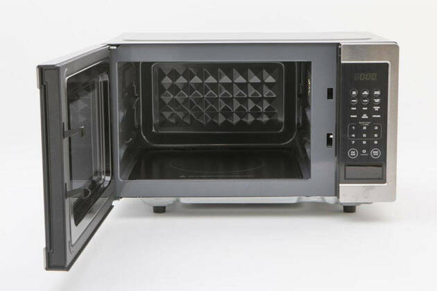 Breville the Diamond Wave Microwave LMO525BSS