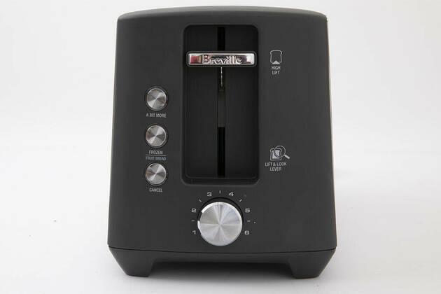 Breville The Bit More Plus 4 Slice Toaster  BTA440BSS