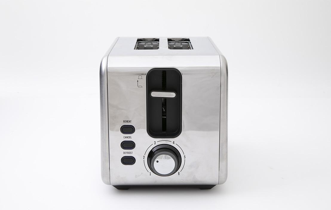 Anko LD-T70007 2 Slice Stainless Steel Toaster 42676096