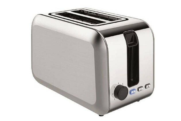 Living & Co 2 Slice Stainless Steel Toaster 9401056424511
