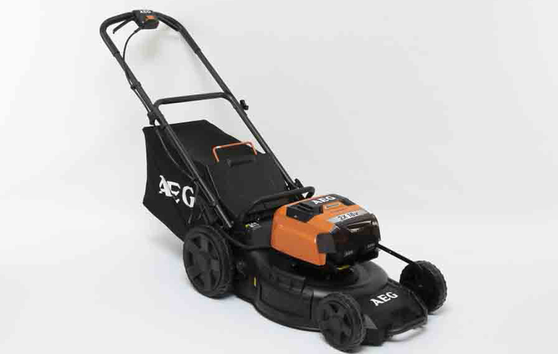 AEG lawnmower