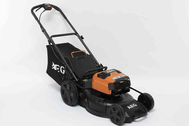 "AEG 2 x 18V 6.Ah 18"" Fusion lawnmower Kit ALM18BS6"