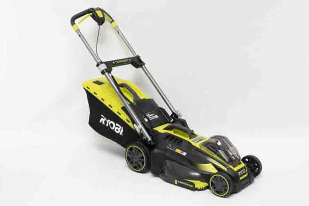 Ryobi 36V 5.0Ah 46cm Brushless Lawn Mower Kit RLM36X46S52