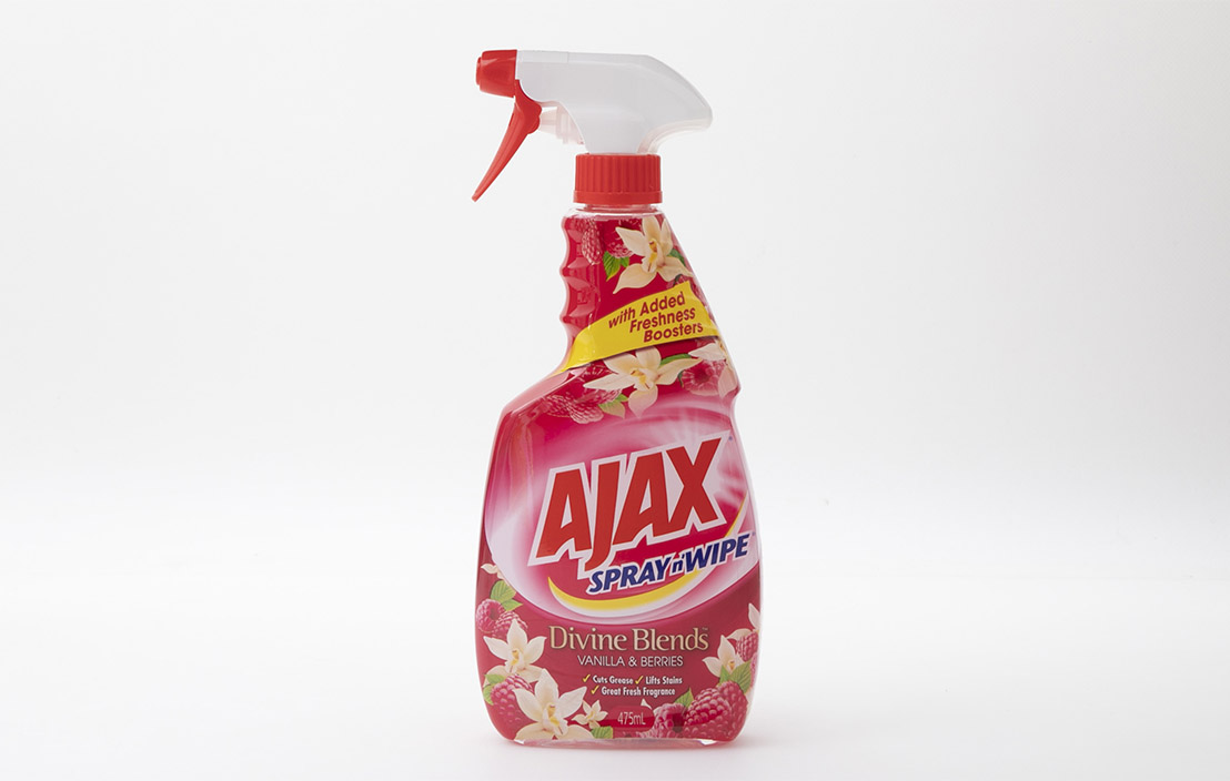 Ajax Spray n' Wipe Divine Blends Vanilla & Berries