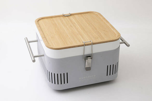 Everdure by Heston Blumenthal Cube Portable Charcoal BBQ