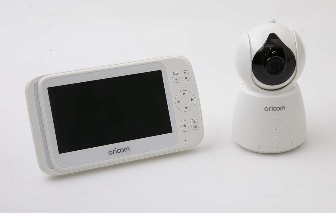 "Oricom Secure 895 5""Digital Video-Audio Baby Monitor SC895"