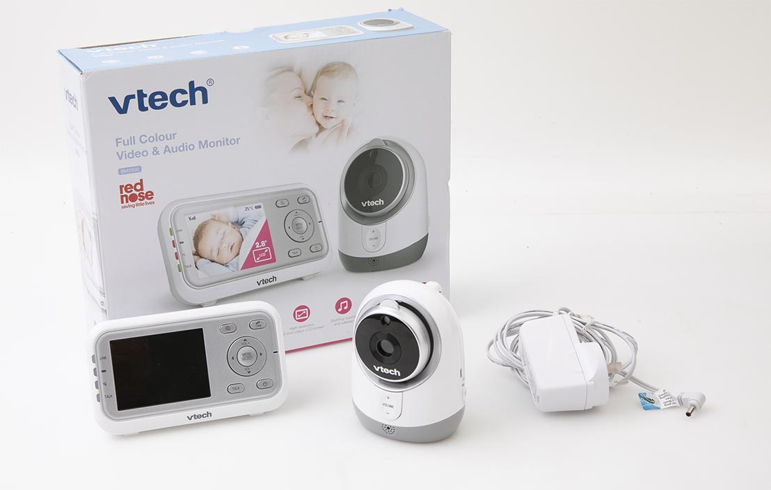 Vtech Full Colour Video & Audio Monitor BM3300