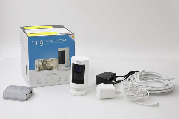 Ring Stick Up Cam Wired 8SS1E8-WAU0
