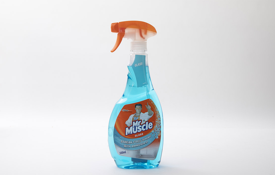 Mr Muscle Glass Streak-Free Shine with Ammonia-D