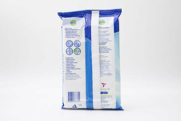 Dettol Big and Strong Bathroom Cleaning Wipes