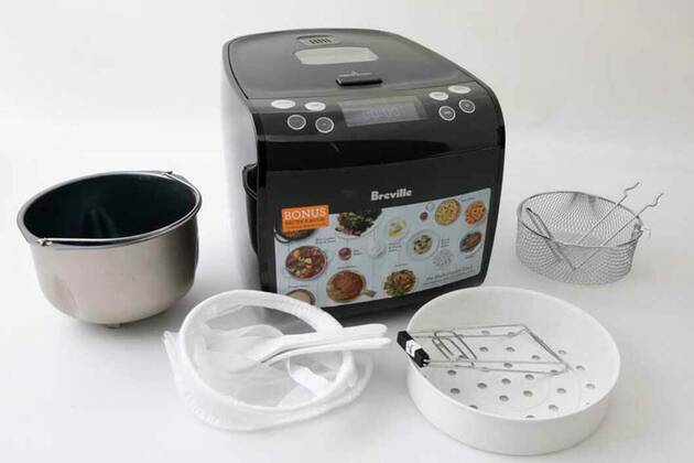Breville the Multi Cooker 9 in 1 LMC600GRY