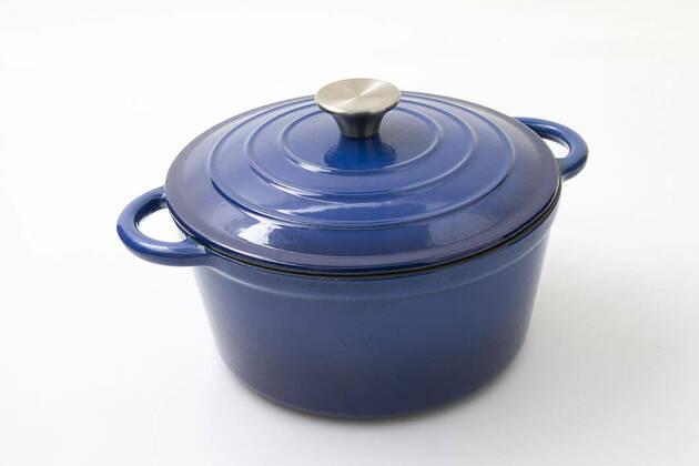 Anko Cast Iron Casserole Pot 42823896