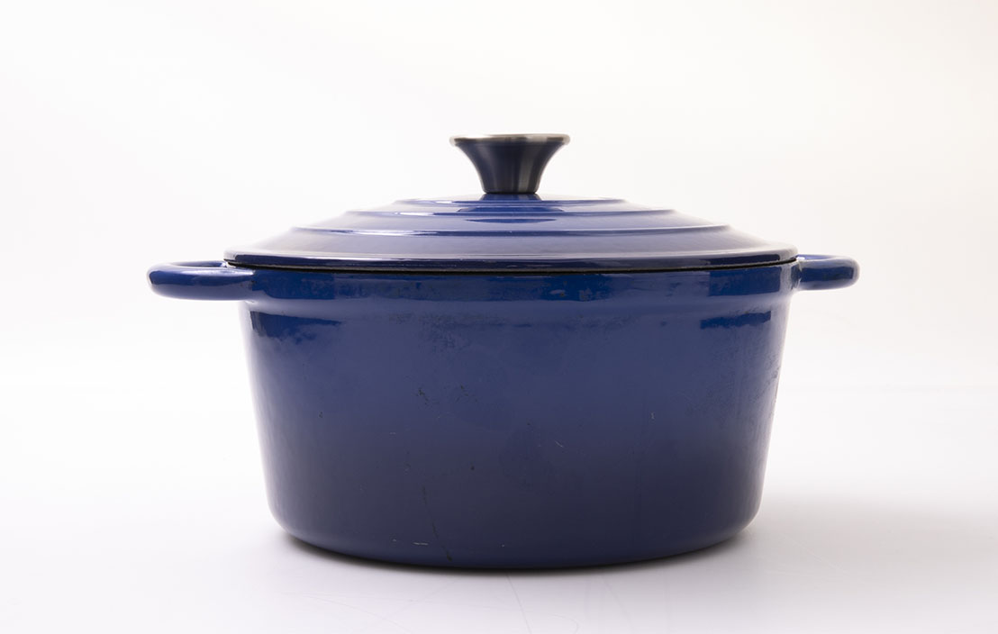 Anko Cast Iron Casserole Pot 42823896
