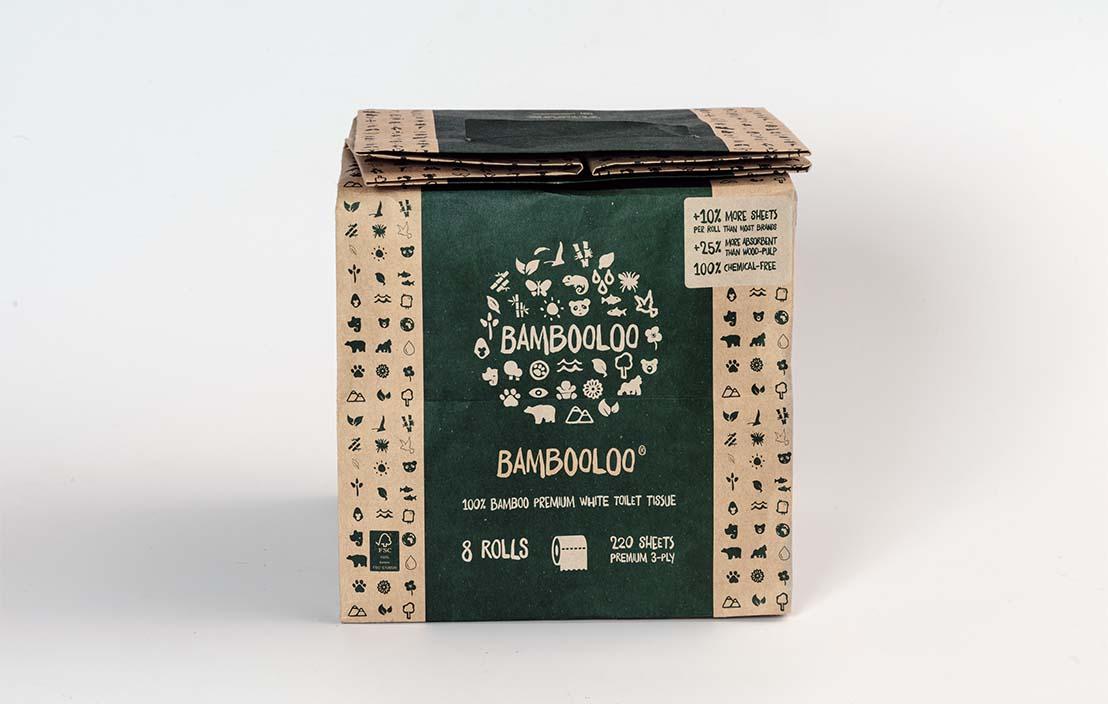 Bambooloo 100% bamboo premium toilet tissue (36 rolls)