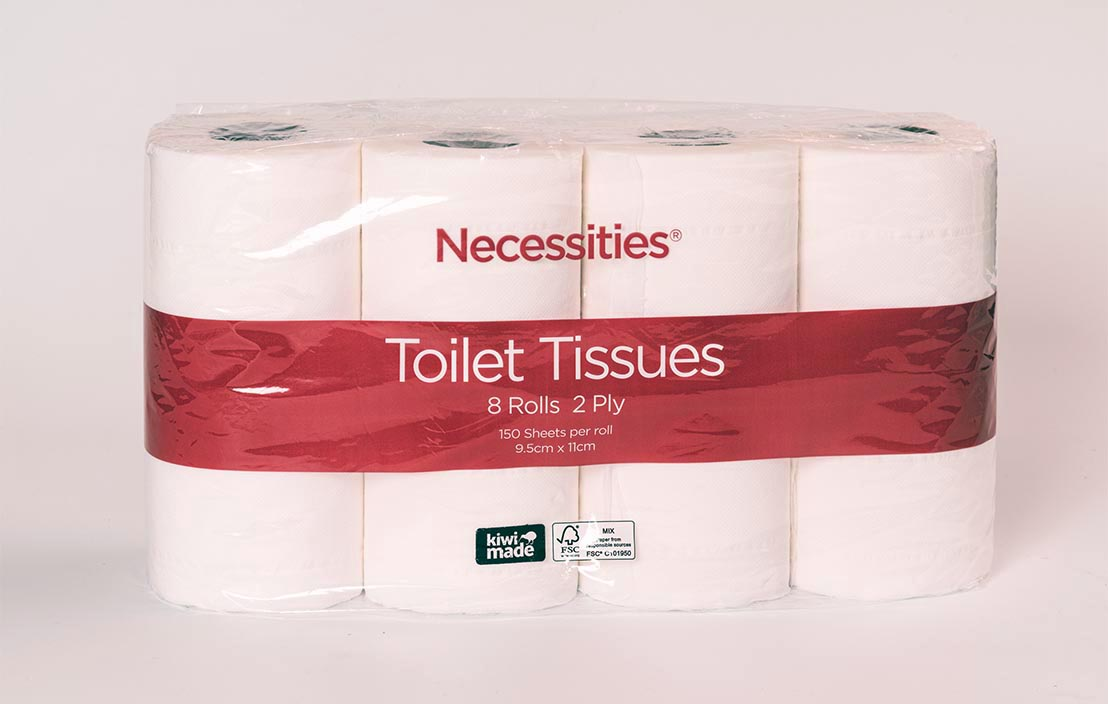 Necessities Toilet tissue (8 rolls)