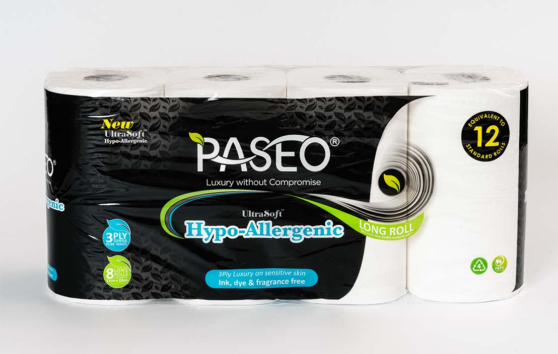 Paseo Hypoallergenic (8 rolls)