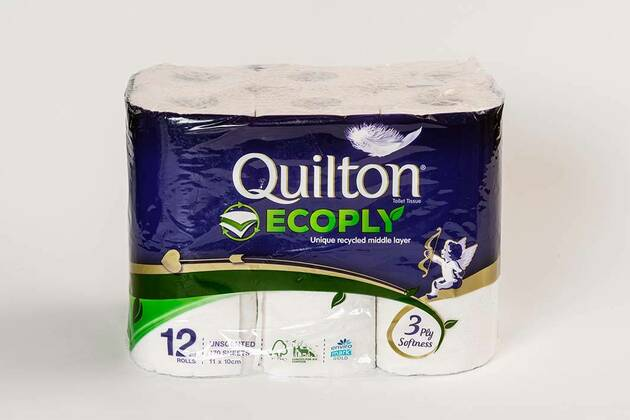 Quilton Ecoply (unscented) (12 rolls)