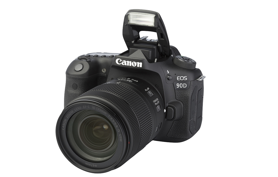 Canon EOS 90D (with 18-135mm lens)