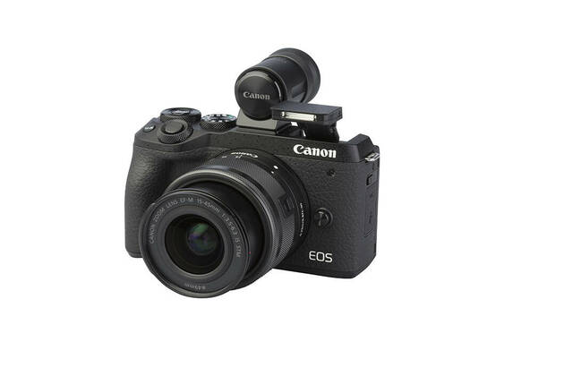 Canon EOS M6 Mark II (with 15-45mm lens)