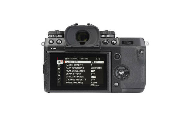 Fujifilm X-H1 (with 16-55mm lens)