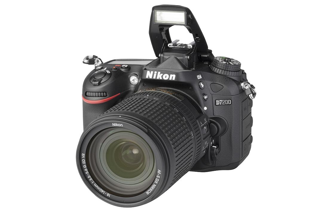 Nikon D7200 (with 18-140mm lens)