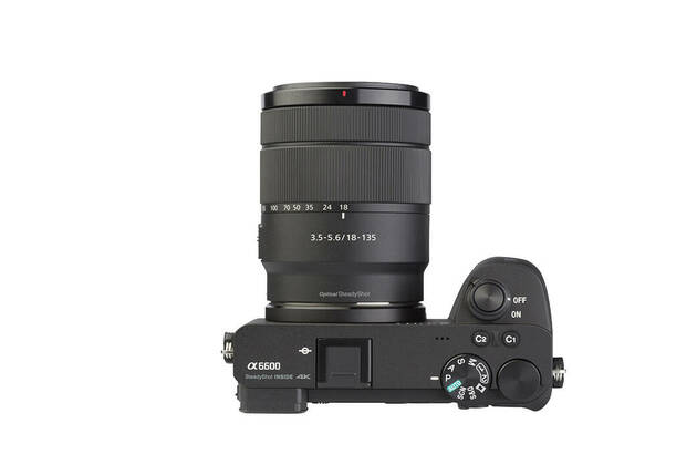 Sony Alpha 6600 (with 18-135mm lens)