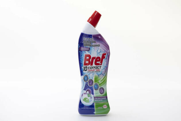 Bref 10x Effect Toilet Gel With Colour Change Indicator