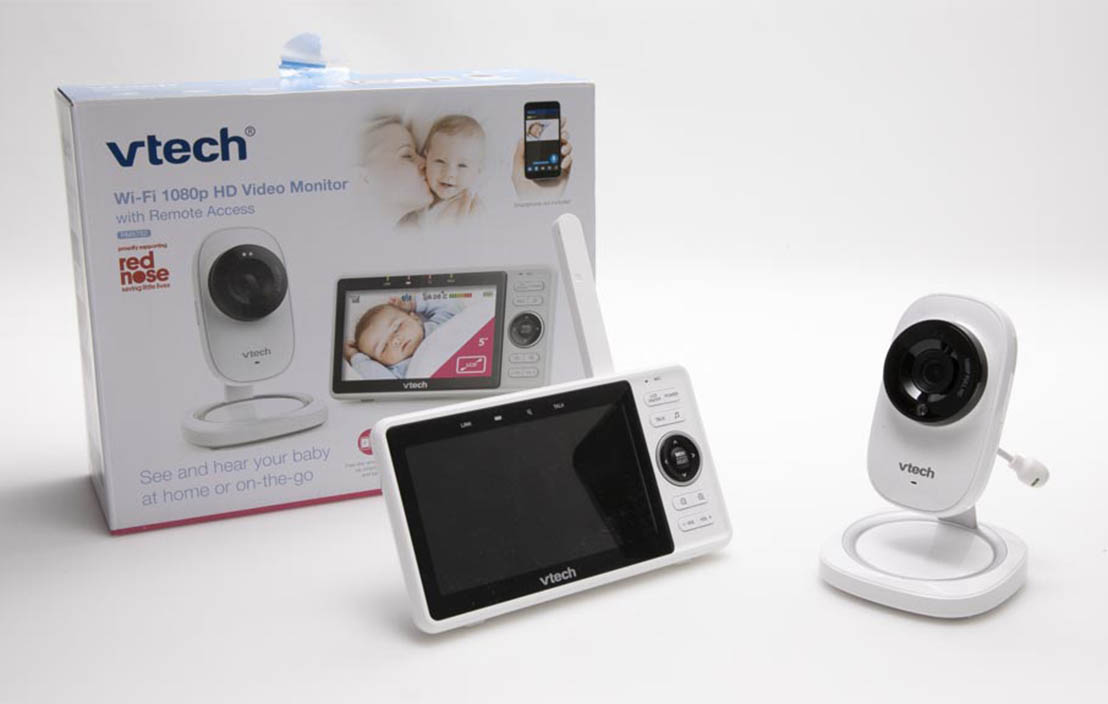 Vtech Video Baby Monitor with Remote Access RM5752