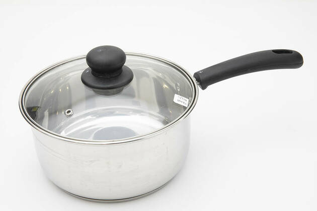 Anko 20cm Stainless Steel Saucepan with Lid 42128472