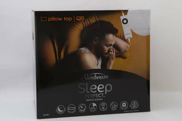 Sunbeam Sleep Perfect Electric Blanket, Pillow Top BL5551